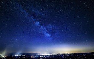 肉眼で見ることができる那須高原の絶景「満天星と天の川」